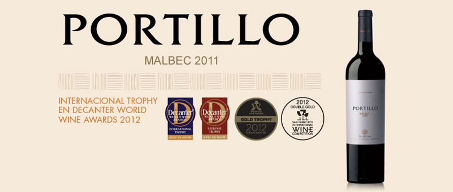 Portillo Malbec 2011 | The most internationally awarded Argentinian Malbec in 2012